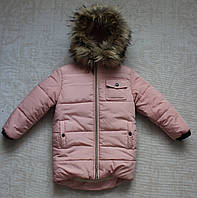 Куртка зимняя для девочки,мех под овчину
