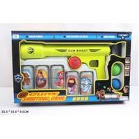 Оружие помповое шарики,мишени,коробка БЛК 062-1