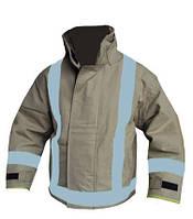 Боевая одежда пожарного (куртка), бежевая. Великобритания, оригинал.