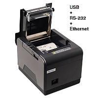 Чековый термопринтер XPrinter XP-Q300 USB + RS-232 + Ethernet