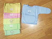 Тепленькая распашонка байковая для новорожденных (рост 50)