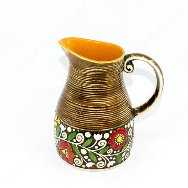 Кувшин керамический 1,6 л коричневый