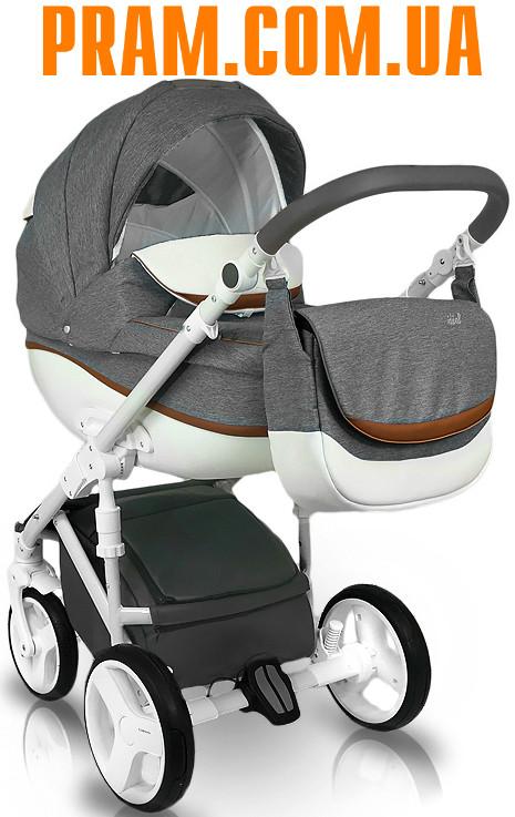 Универсальная коляска 2 в 1 Bexa Ideal New IN1 Серый