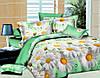 Двуспальный комплект постельного белья евро 200*220 хлопок  (4390) TM KRISPOL Украина