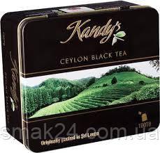 Цейлонский черный листовой чай Kandy*s Ceylon black leaf tea (100 пакетиков х 2 г)  200 гр