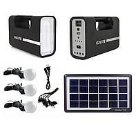 Портативний акумулятор з сонячною панеллю GD-Light GD-8017B, фото 1