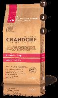 Корм сухой для взрослых собак средних пород с ягнёнком и рисом Грандорф 26\15 3 кг