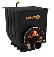 Печь канадского типа Canada 03 с варочной поверхностью + стекло и защитный кожух