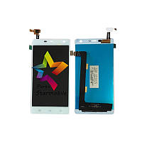 Дисплей (Модуль) для мобильного телефона THL 5000 white, белый, с тачскрином