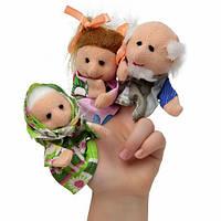 Пальчиковый кукольный театр Репка В027, 7 персонажей