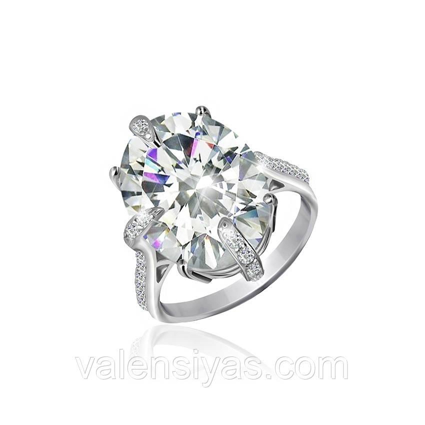 Серебряное кольцо-комплект КК2Ф/394