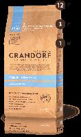 Корм сухой для взрослых собак всех пород с белой рыбой и рисом Грандорф 25\15 3 кг