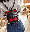 Рюкзак сумка женский трансформер Mikki Черный, фото 2