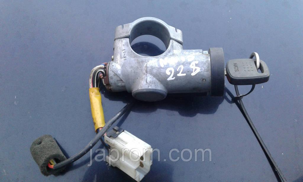Замок зажигания + Контактная группа замка зажигания 48750-50Y00 Nissan Almera N15