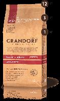 Корм сухой для взрослых собак всех пород с мясом утки и картофелем Грандорф 26\16 12 кг