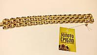Золотой браслет 750 пробы. Вес 52,45 грамм. Размер 18,5 см.