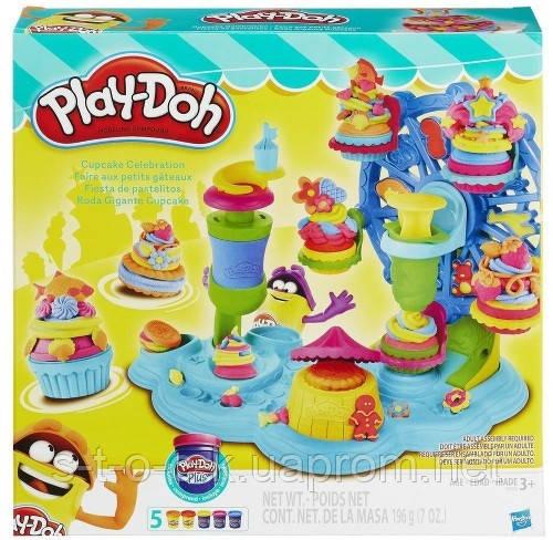 Игра Hasbro Play-Doh Сладкая вечеринка (B3399)
