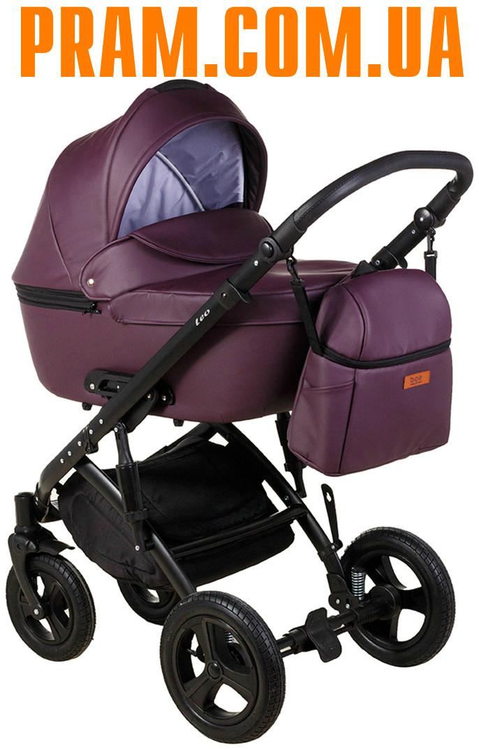 Универсальная коляска 2 в 1 Bair Leo Eco BL-5 Фиолетовый