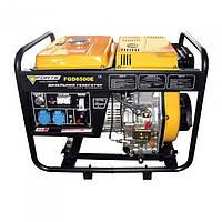 ✅ Дизельный генератор Forte FGD6500E (220W)