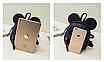 Рюкзак женский мини Mikki кожзам однотонный Черный, фото 6