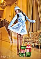 Новогодний костюм для взрослых Снегурочка