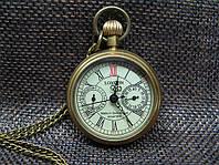Часы карманные бронзовые механика London
