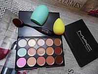 Палитра консилеров Mac и набор для макияжа Kylie 3в1