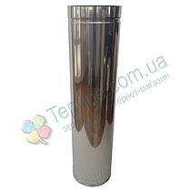 Труба-сэндвич для дымохода d 250 мм; 1 мм; AISI 304; 1 метр; нержавейка/нержавейка - «Версия Люкс», фото 3