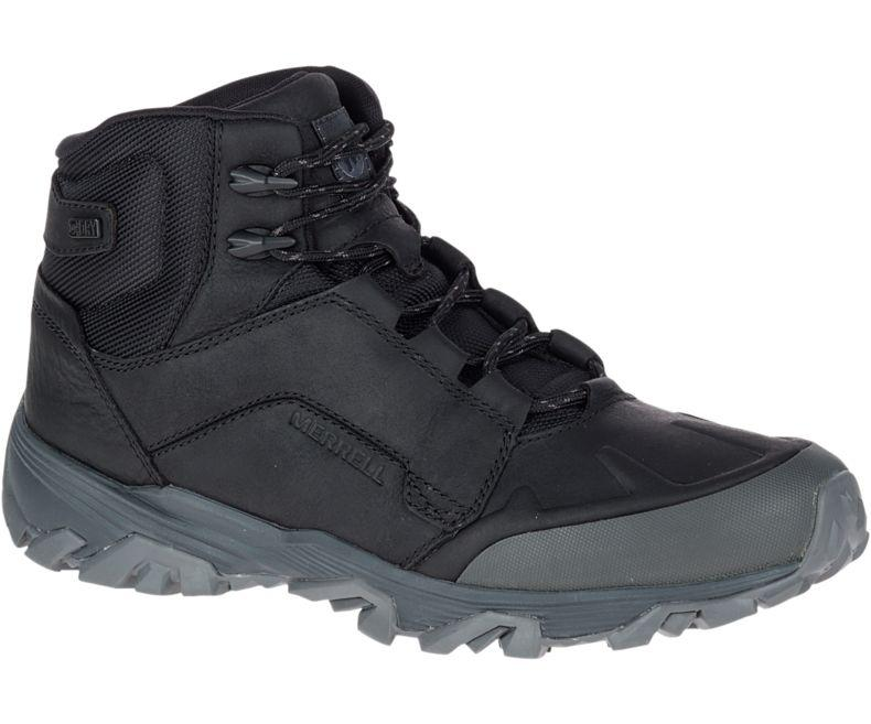 Оригинал Зимние ботинки MERRELL COLDPACK ICE+ MID POLAR WATERPROOF J91841 BLACK черные