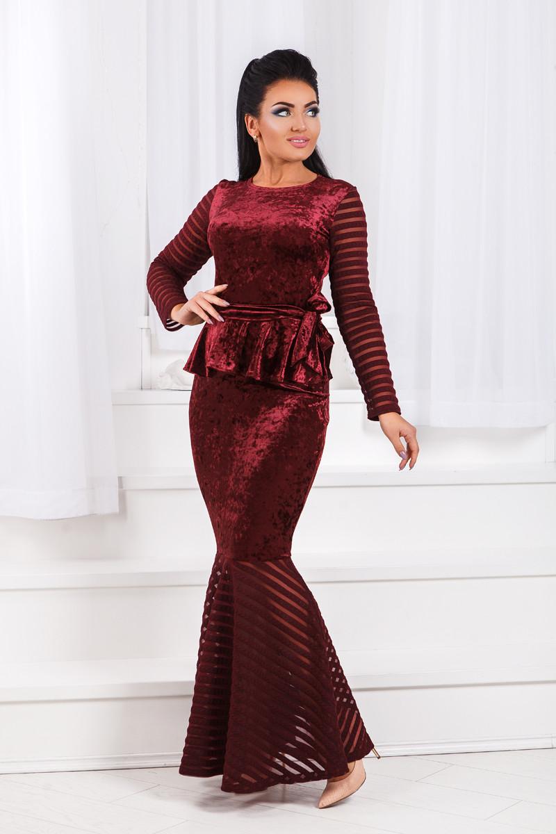 ДТ1193 Вечернее платье годе размеры 50-56