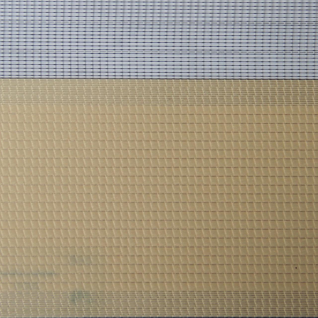 Рулонные шторы День-ночь Ткань Сандра Персик