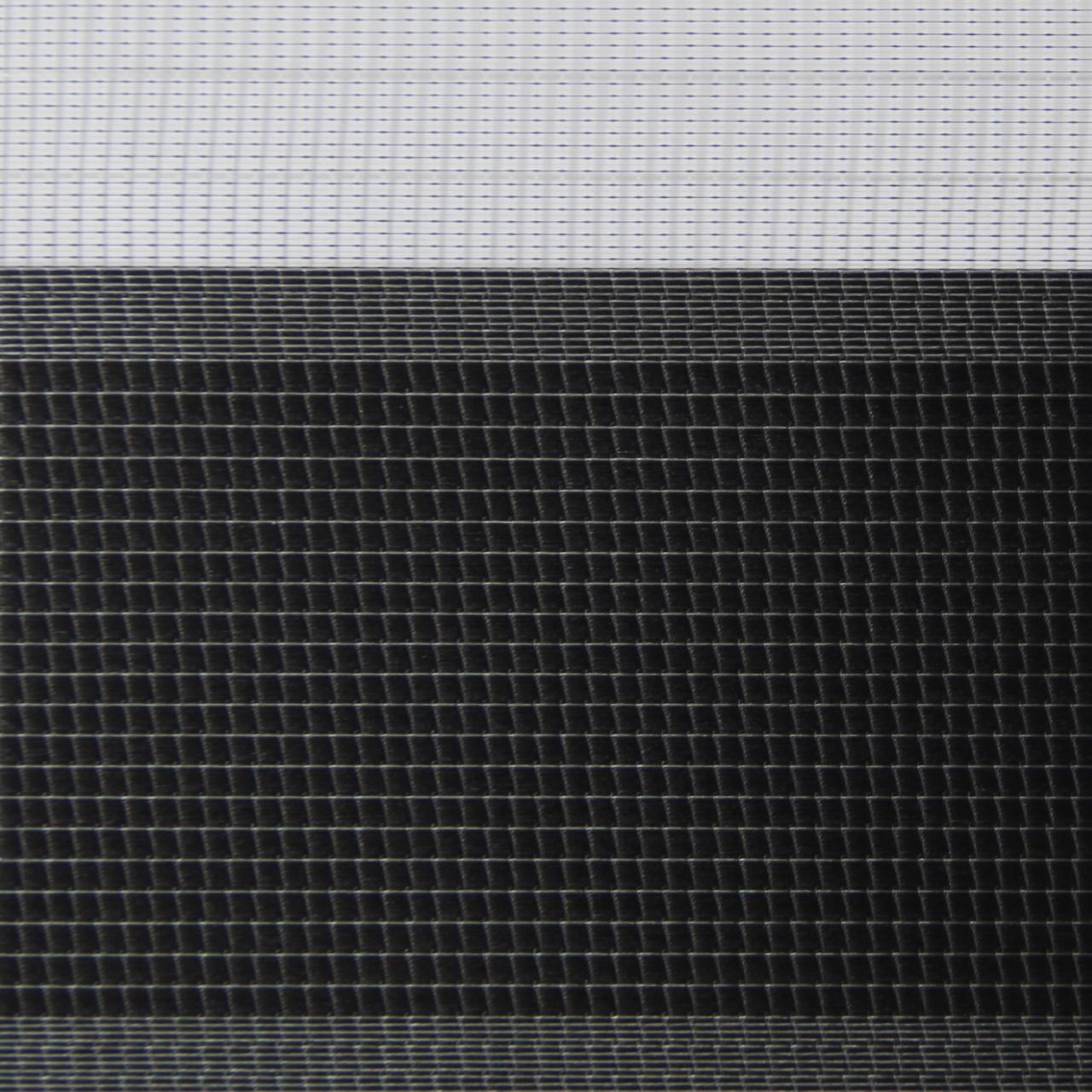 Рулонные шторы День-ночь Ткань Сандра Чёрный