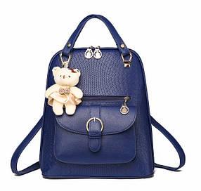 Елітні рюкзаки у візерунок Candy Bear з брелоком