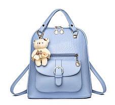 Элитные рюкзаки в узор Candy Bear с брелком, фото 3