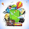 Отпуск с 16 по 23 августа