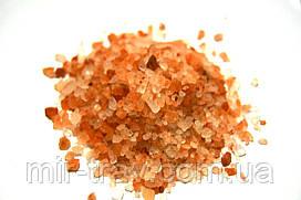 Соль розовая гималайская кристаллы (крупная) 100 грамм