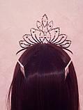 Корона, диадема для конкурса, высота 10 см., фото 5
