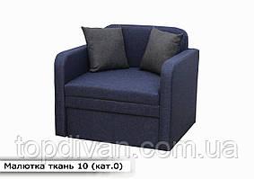 """Дитячий диван """"Малютка"""" (тканина 10) Габарити: 0,96 х 0,80 Спальне місце: 1,95 х 0,80"""
