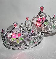 Ободок Корона Принцессы с камушками свет