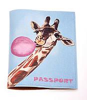 Обложка на паспорт (экокожа, ручная работа)