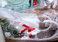 Новогодние сани-декор для дома
