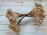Калина глянцевая цвет золото, 0,9 см