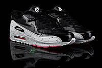 Зимние кроссовки  Nike Air Max  Кожа + лакированная кожа ,утеплитель : мех ,размеры:41-44 Фабр.Вьетнам