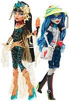 Набор Монстер Хай Коми Кон 2017 Клео де Нил и Гулия Йелпс / Monster High SDCC 2017 Comic Con Ghoulia Yelps & C
