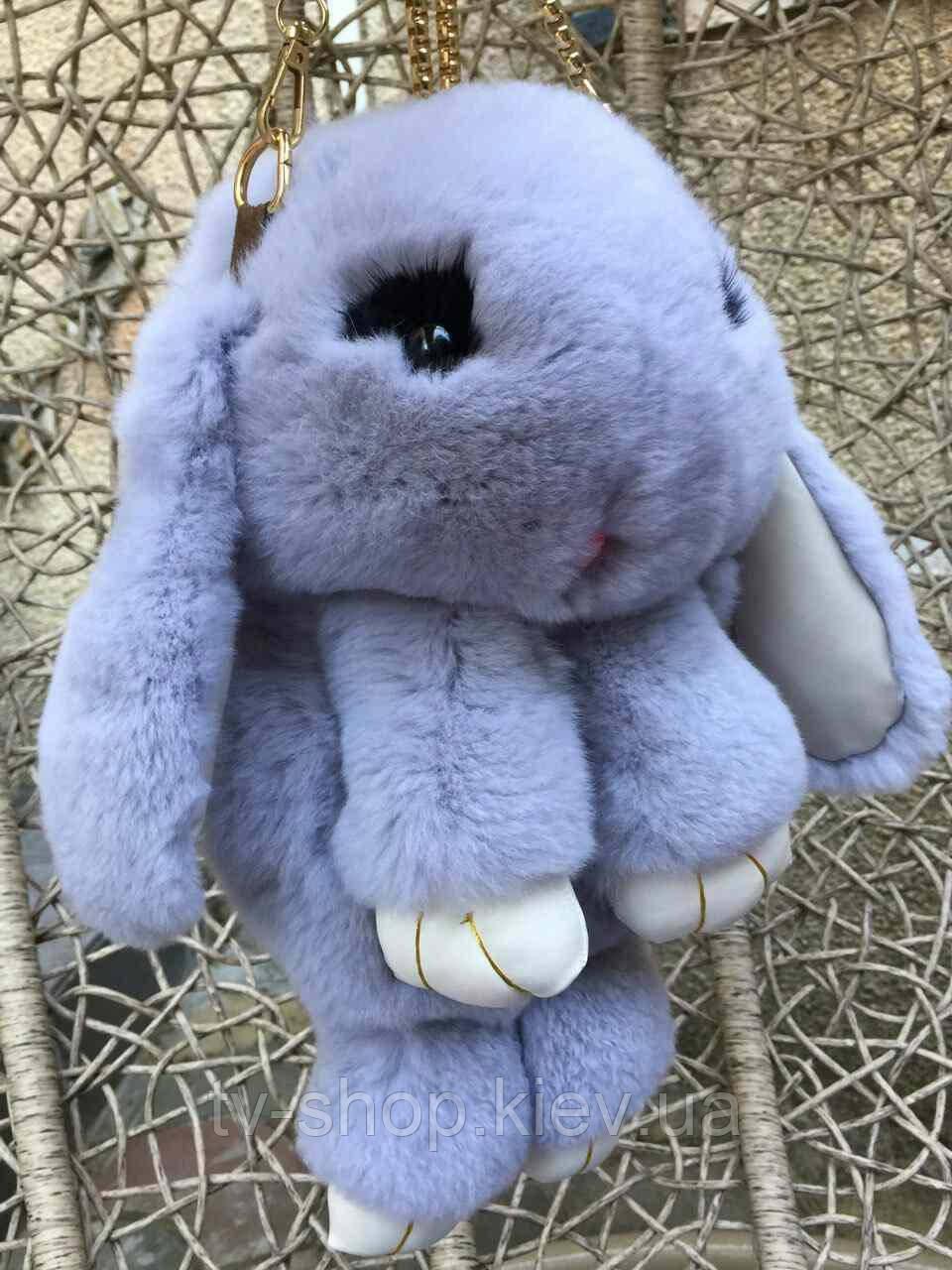 """Суимка-рюкзак """"Меховой кролик"""" в асортименте"""