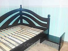 Прикроватный столик из натурального дерева, фото 2