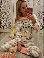 Теплая пижама,костюм для дома и сна Зайка