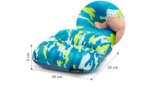 Розміри подушкиа мілітарі синього кольору