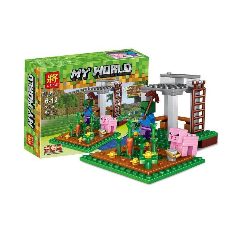 """Конструктор Minecraft - """"Зомби и свинья"""""""