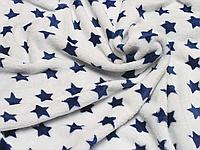 Детский махровый плед одеялко 100х90 см (мягкая, не петельная махра пушистая на ощупь) 3877 Синий